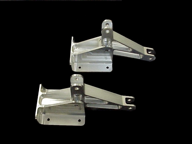 Aircraft Flap Bellcrank and Support