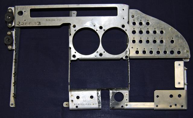 Mooney M20F Old Co-Pilot Side Panel
