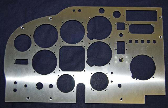 Mooney M20F New Pilot Side Instrument Panel