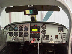 Mooney M20E New Instrument Panel