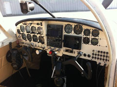 Mooney M20C New Instrument Panel
