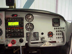 Mooney M20E New Custom Panel | Co-Pilot Side