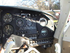 Mooney M20C | Co-Pilot Side Before