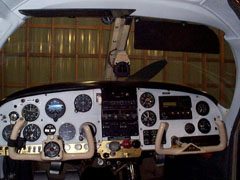 Mooney M20E Instrument Panel Before